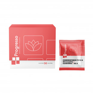 CondroForce Tipo II (Glucosamina + Condroitina + UC II) 30 Sachês