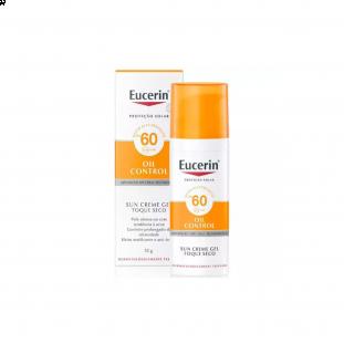 Protetor Solar Facial Oil Control FPS 60 Toque Seco - Eucerin 52g