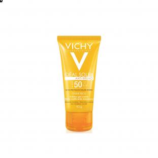 Protetor Solar Facial Idéal Soleil Antibrilho FPS 50 - Vichy 40g